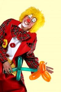 Pas op dat het clownsgehalte tijdens een les niet de overhand krijgt