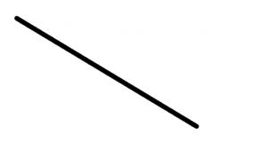 De kortste afstand tussen twee punten is een rechte lijn
