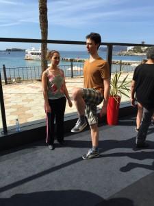 Werken aan Body Awareness in de ochtendzon van Ibiza