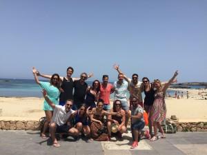 De eerste groep deelnemers aan onze internationale docentenopleiding