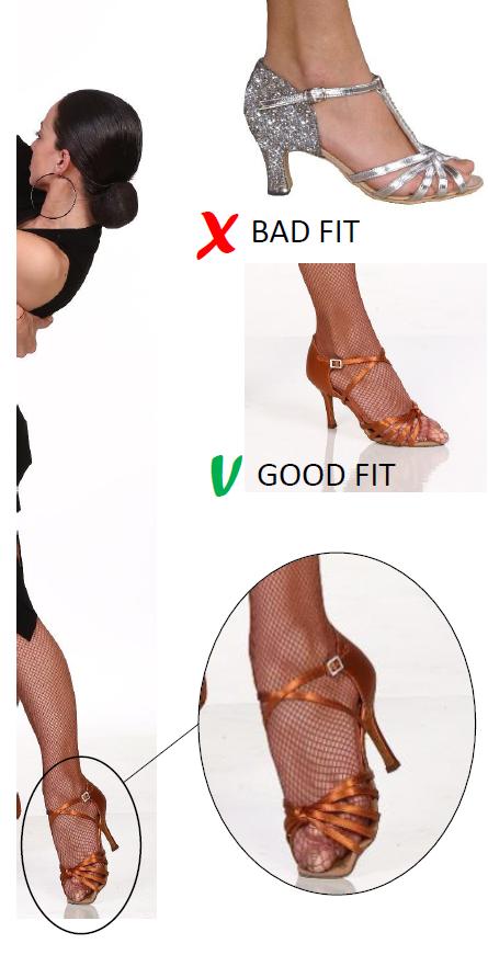 schoenen-maat-dames-salsaventura
