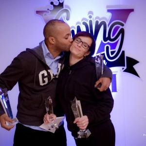 Koplopers uit de Salsa in de WCS zijn Femke en Manoah van Salsa Tipica uit Nijmegen. Zij wonnen laatst Swingvitational 2015 in Londen.