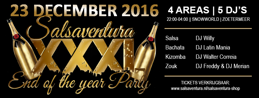 end of the year party salsaventura xxxl end of the year party € 15 ...