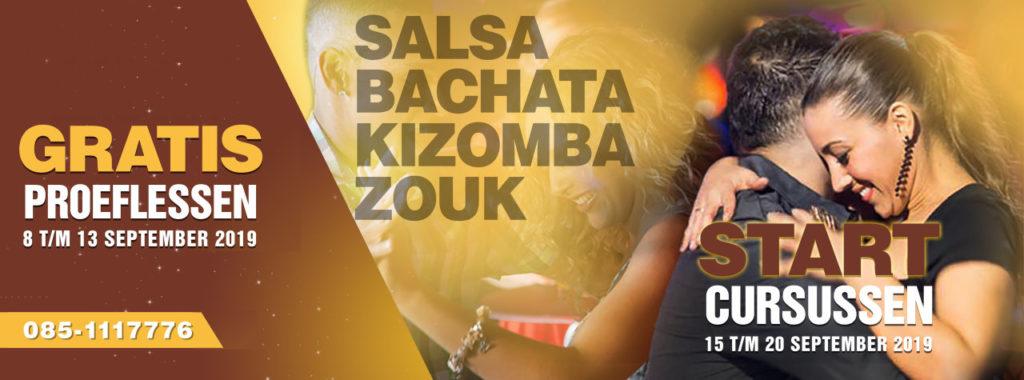 September gratis proeflessen dansen bij Salsaventura